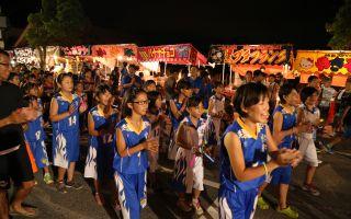 500人が踊る新富津音頭、富津ふるさとまつり